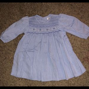NWOT smocked dress with matching bloomers